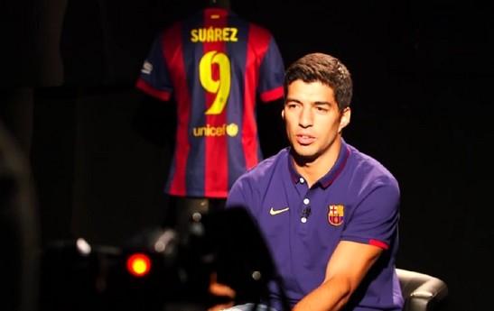 Suarez prêt pour le Clasico - Fc-Barcelone.com