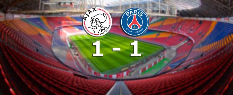 L'Ajax tient en échec le PSG - Fc-Barcelone.com
