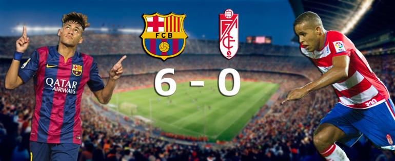 Festival du Barça contre Grenade - Fc-Barcelone.com