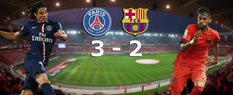 Paris fait tomber le Barça - Fc-Barcelone.com