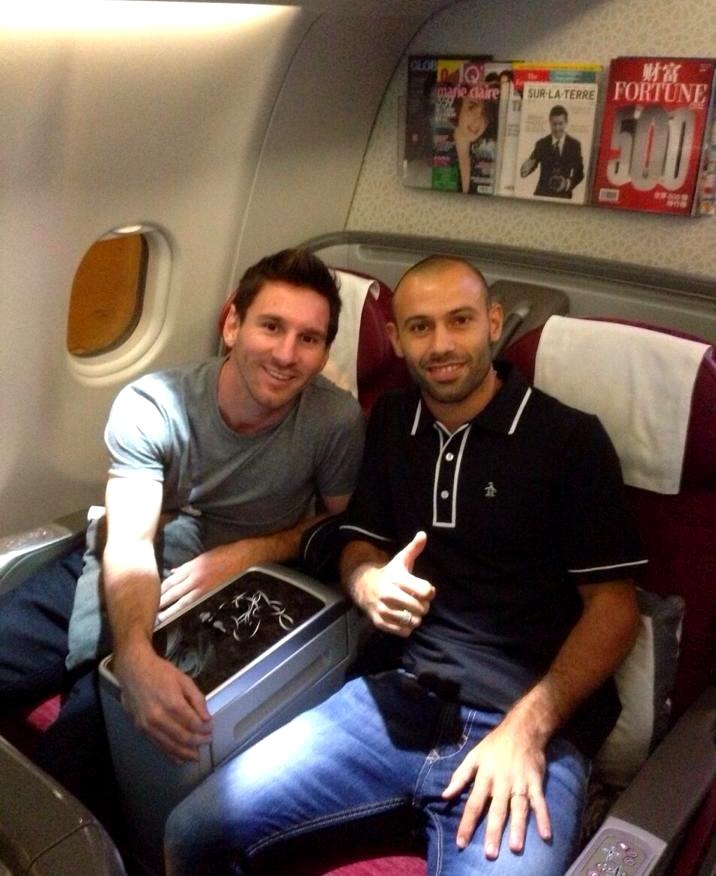 Messi et Mascherano de retour - Fc-Barcelone.com