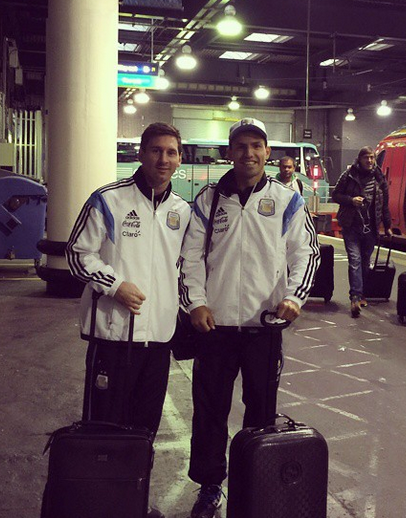 Messi en voyage en Angleterre - Fc-Barcelone.com