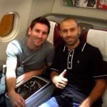 Les joueurs sont à Tbilissi - Fc-Barcelone.com