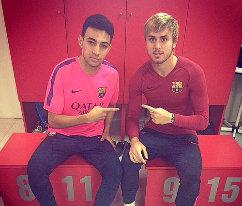Munir retrouve le Barça B - Fc-Barcelone.com