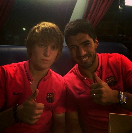Le Barça s'entraîne avec Adama et Halilovic - Fc-Barcelone.com