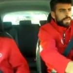 Piqué, le fou du volant - Fc-Barcelone.com