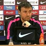 Luis Enrique: «Une rencontre difficile» - Fc-Barcelone.com