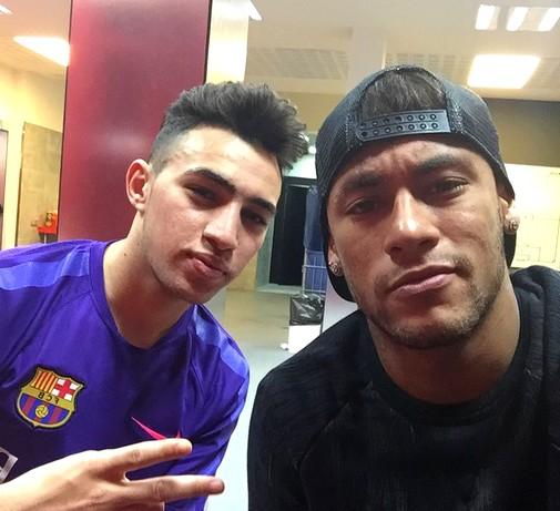 Munir et Neymar à l'entraînement - Fc-Barcelone.com