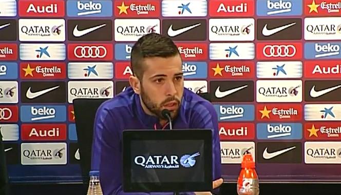 Alba: «Nous sommes en forme» - Fc-Barcelone.com
