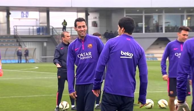 L'équipe reprend l'entraînement - Fc-Barcelone.com