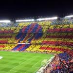 Splendide tifo au Camp Nou - Fc-Barcelone.com
