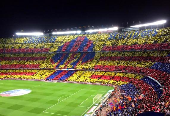 98.760 spectateurs au Camp Nou - Fc-Barcelone.com