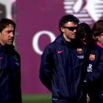 Double session de travail - Fc-Barcelone.com
