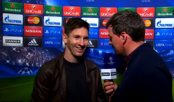 Messi: « On a fait un grand match » - Fc-Barcelone.com