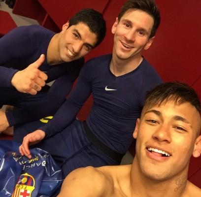 Heureux de la victoire - Fc-Barcelone.com