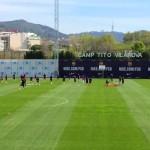 Le Barça prépare le Clasico - Fc-Barcelone.com