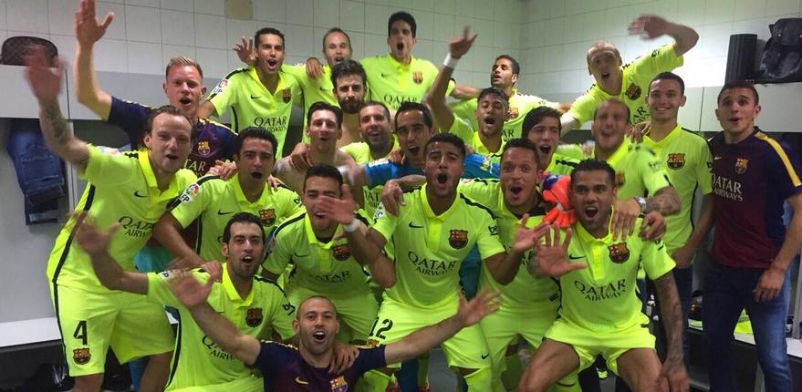 LE BARCA CHAMPION DE LIGA ! - Fc-Barcelone.com