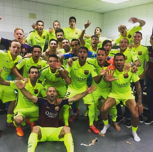 CAMPEONES ! - Fc-Barcelone.com