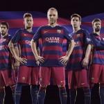 Les nouveaux maillots du Barça - Fc-Barcelone.com