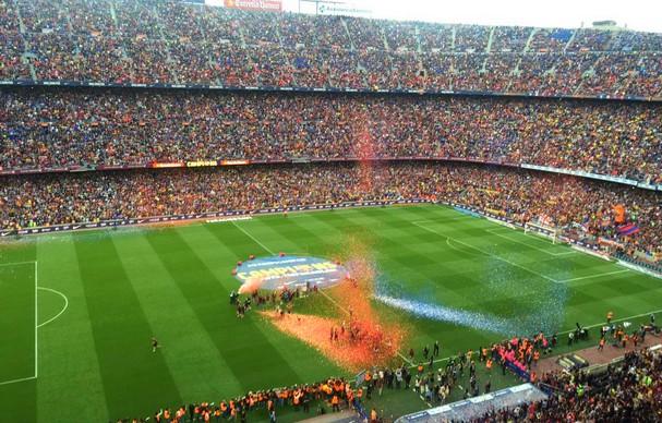 Grande fête au Camp Nou - Fc-Barcelone.com