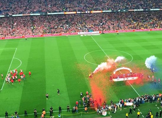 Enorme fête au Camp Nou ! - Fc-Barcelone.com