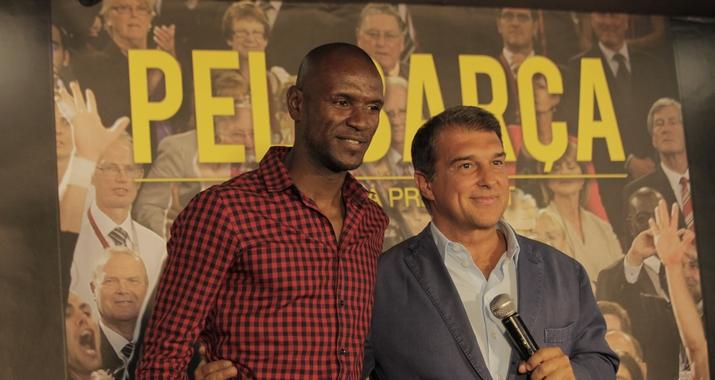 Abidal dans le projet de Laporta - Fc-Barcelone.com