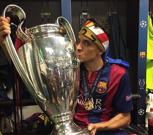 Bartra, heureux ! - Fc-Barcelone.com