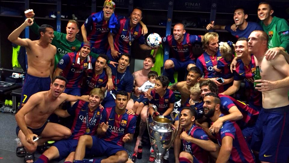 LE BARCA, CHAMPION D'EUROPE ! - Fc-Barcelone.com