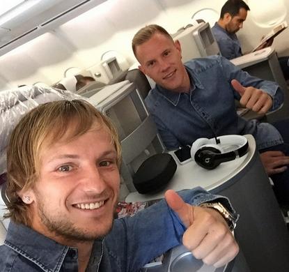 Les joueurs sont arrivés à Berlin - Fc-Barcelone.com