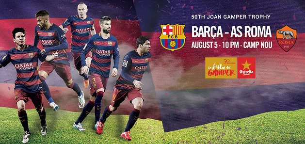 Le Gamper, début août au Camp Nou - Fc-Barcelone.com