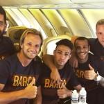 En route vers les USA - Fc-Barcelone.com