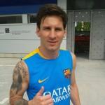 Messi est de retour - Fc-Barcelone.com
