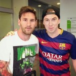 Messi avec Hardwell - Fc-Barcelone.com