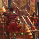 Messi de retour au Camp Nou - Fc-Barcelone.com