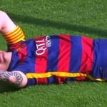 Messi KO 3 semaines ! - Fc-Barcelone.com