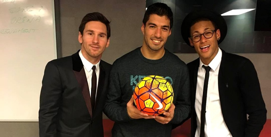 Hat-trick pour Suarez ! - Fc-Barcelone.com