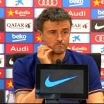 Luis Enrique: «Heureusement, Messi va bien» - Fc-Barcelone.com