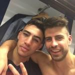 Piqué heureux de la victoire - Fc-Barcelone.com