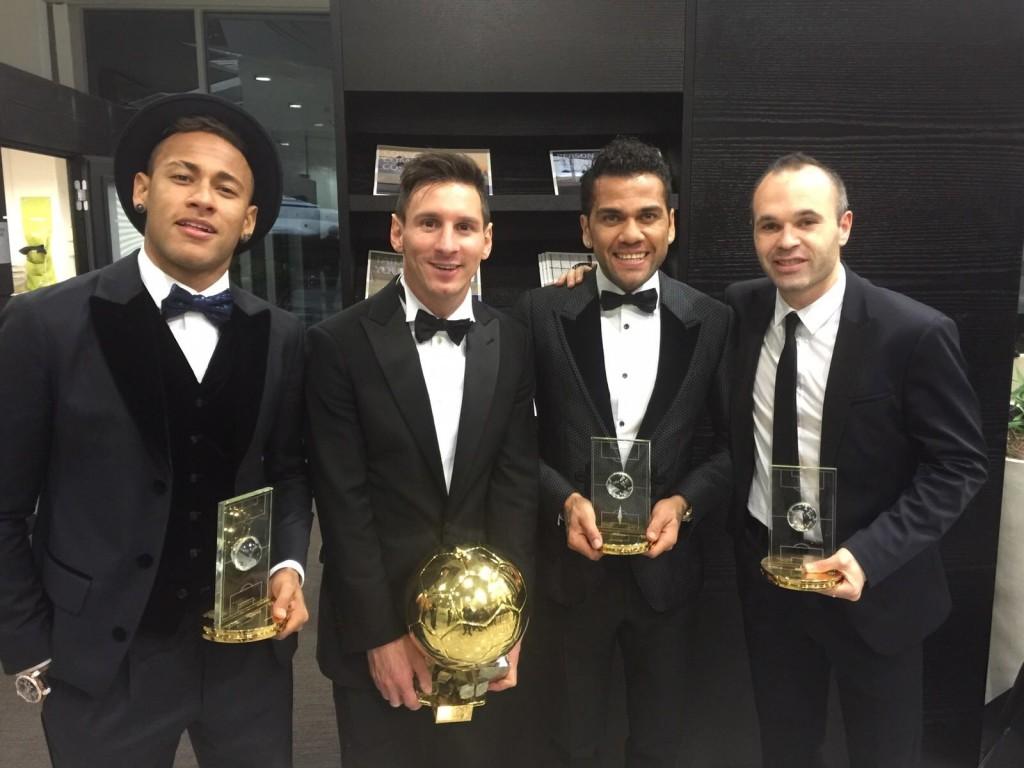 Le Barça récompensé - Fc-Barcelone.com