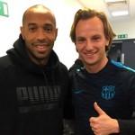 Rakitic rencontre Henry - Fc-Barcelone.com