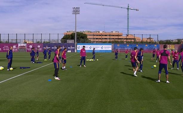 Entraînement en 360° - Fc-Barcelone.com