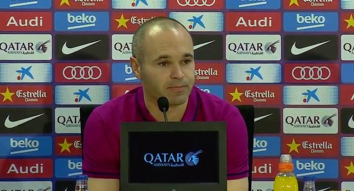Iniesta: «Le Clasico, c'est une finale de plus» - Fc-Barcelone.com