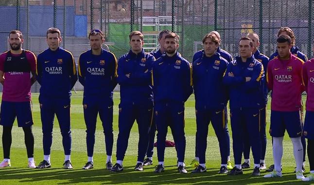 Le Barça reprend l'entraînement - Fc-Barcelone.com