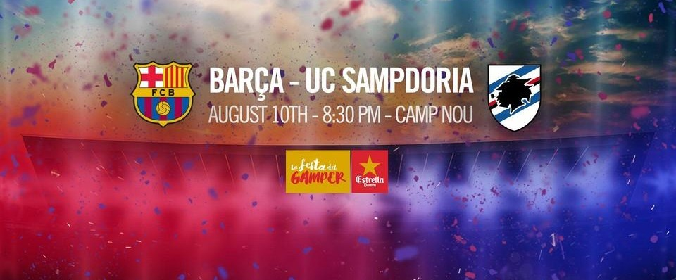 Barça-Sampdoria lors du Gamper ! - Fc-Barcelone.com