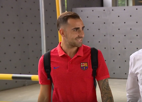 Paco Alcacer, attendu mardi à Barcelone - Fc-Barcelone.com