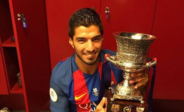 Luis Suarez jusqu'en 2021 - Fc-Barcelone.com