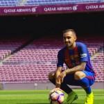 Alcacer, officiellement présenté au Camp Nou - Fc-Barcelone.com