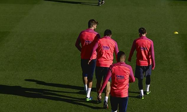 Le Barça, prêt à affronter Malaga - Fc-Barcelone.com
