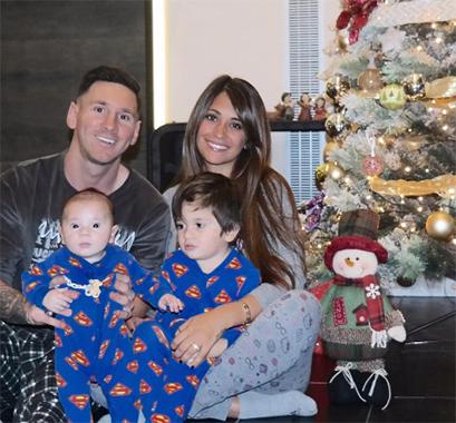 Messi passe les fêtes en Argentine - Fc-Barcelone.com