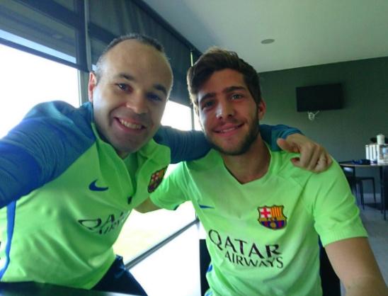Sergi Roberto, star du jour - Fc-Barcelone.com